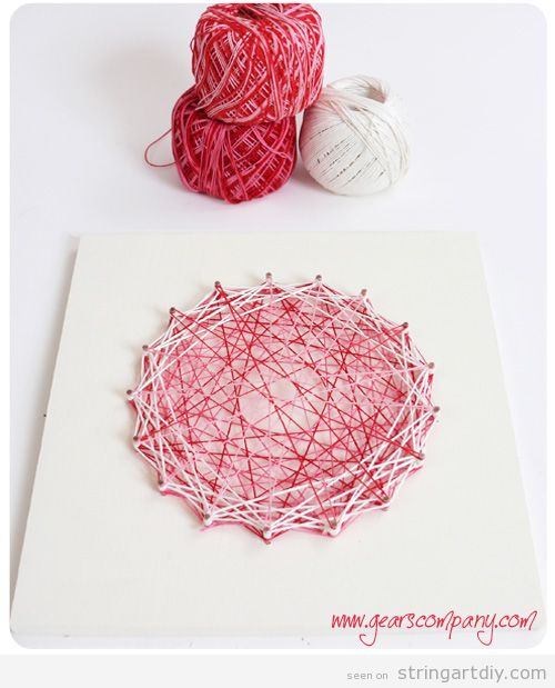 String Art for Kids Tutorial step 6