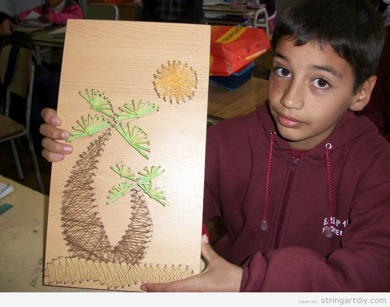 String Art ideas for kids