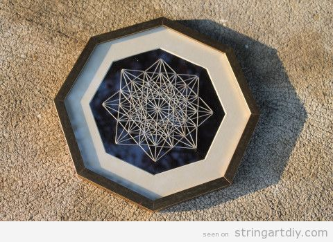 String Art Star DIY