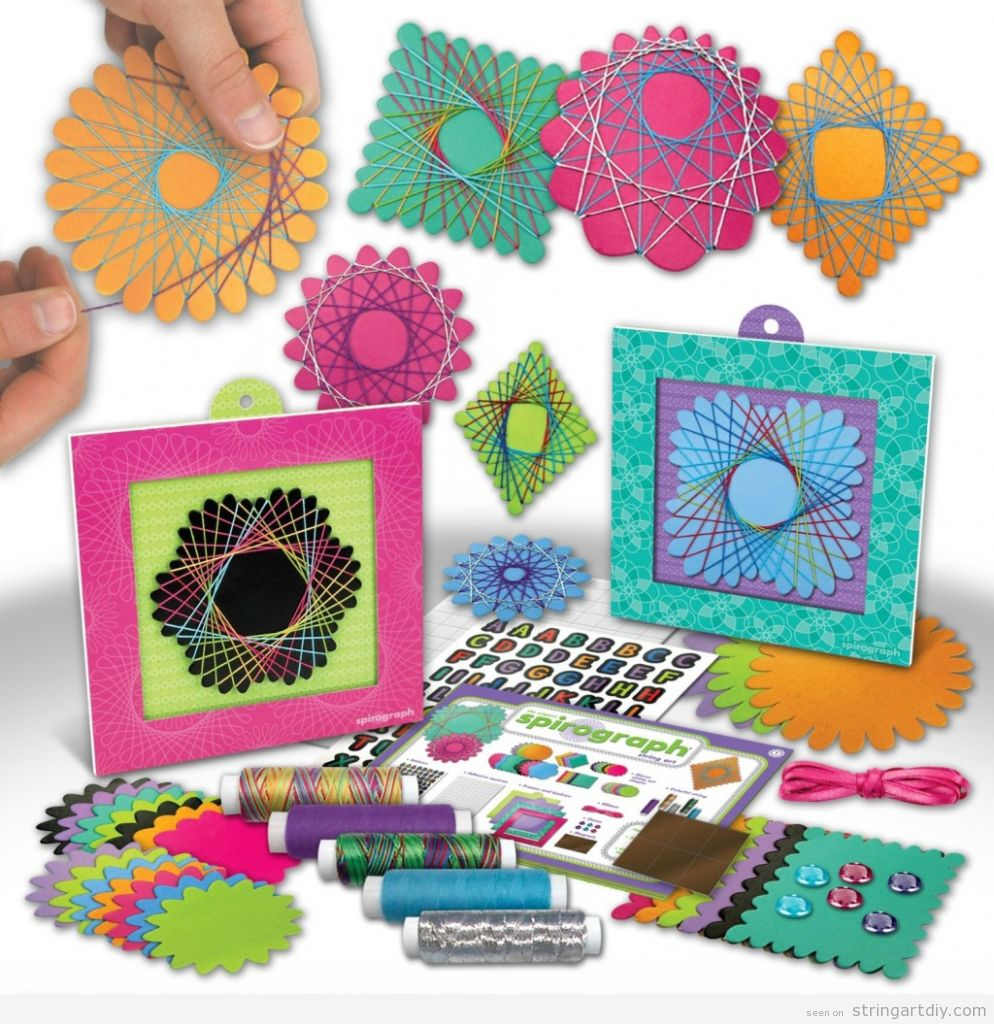 Spirograph String Art Set, buy online 2