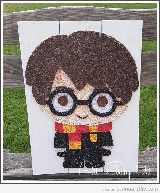 Harry Potter String Art