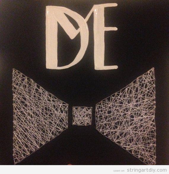 Bow tie String Art for men
