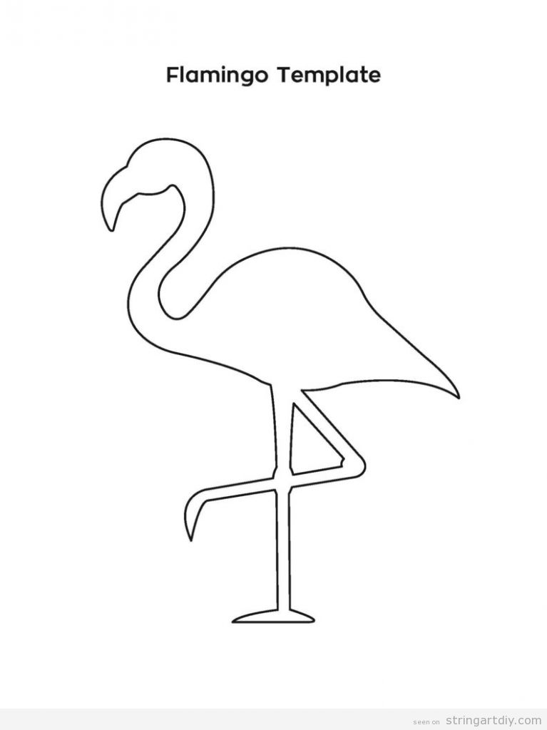 Free flamingo pattern