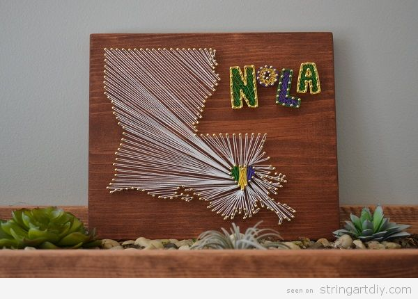 String Art DIY | Ideas, tutorials, free patterns and templates to ...