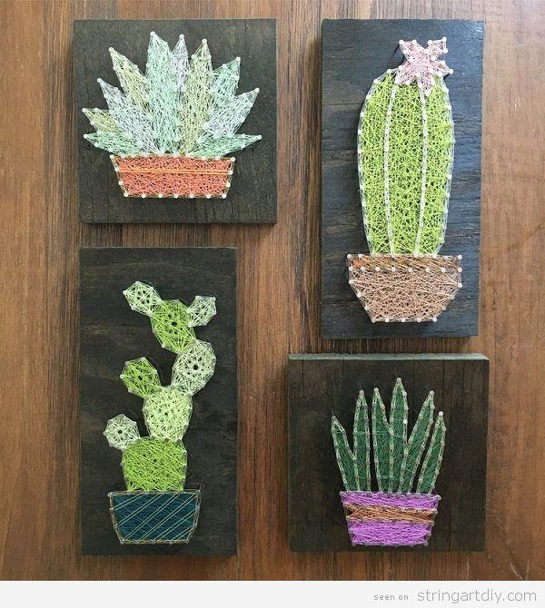 Succulents archives string art diystring art diy diy cactus string art 4 solutioingenieria Images
