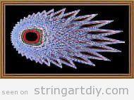 Starburst String Art DIY