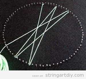 String Art Tutorial, step 4
