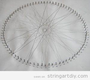 String Art Tutorial, step 3
