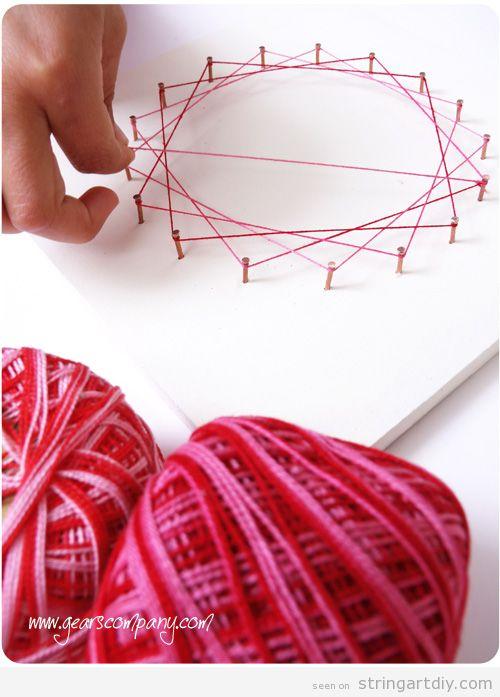String Art for Kids Tutorial, step 5