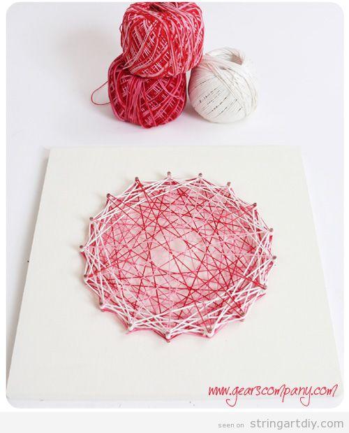 String Art for Kids Tutorial step 6