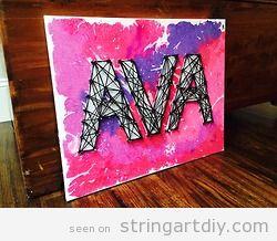 Ava String Art names