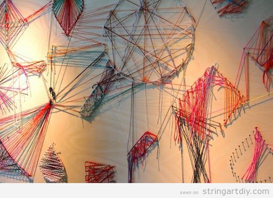 Wall String Art home decoration