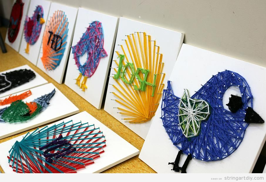 String Art ideas to make with kids