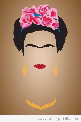 Frida Kahlo template 2