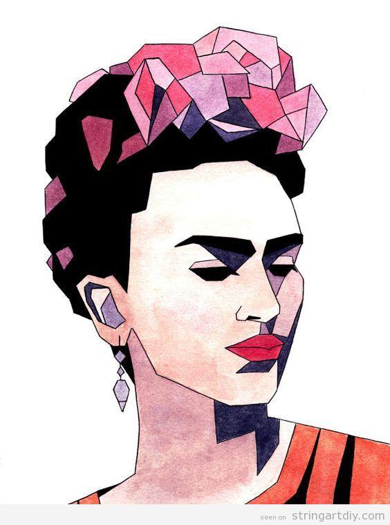 Frida Kahlo template