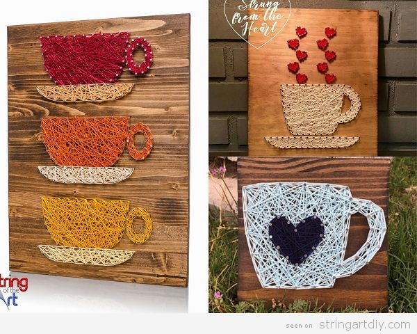 Coffee String Art