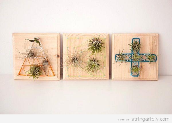 DIY Cactus String Art 7