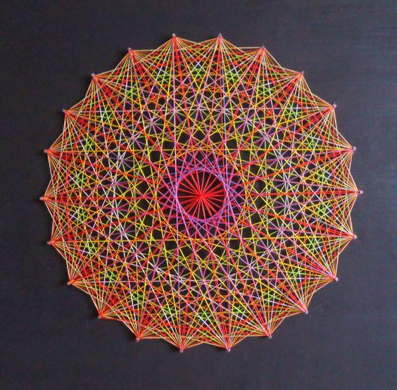 Mandala String Art 3