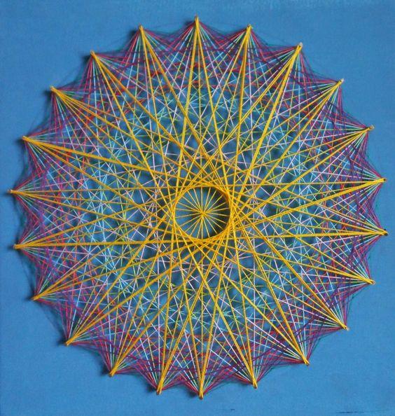 Mandala String Art 7