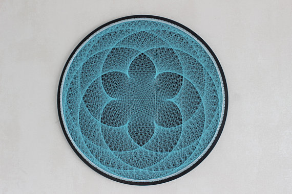 Mandala String Art 8