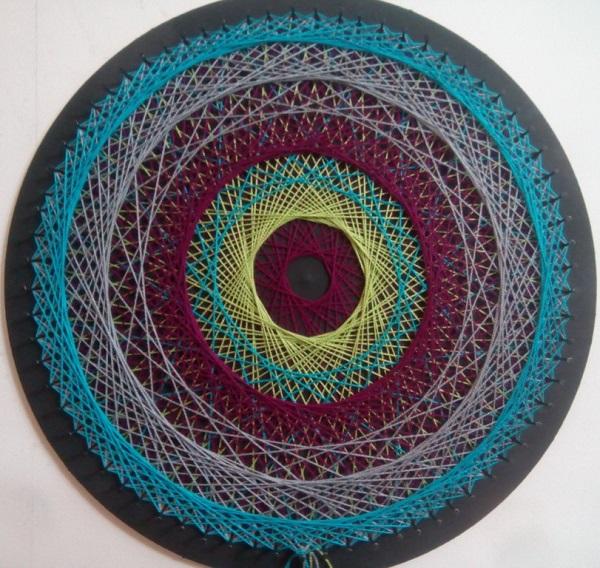 Mandala String Art 9