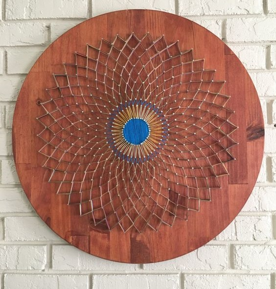 Mandala String Art 10