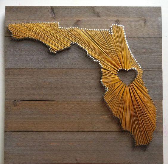 Florida State String Art