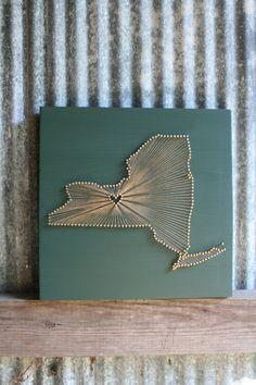 New York State String Art