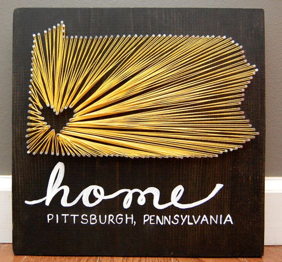 Pennsylvania State String Art