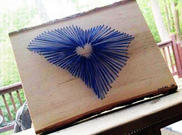 South Carolina State String Art