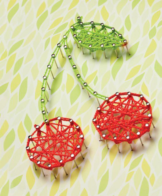 Cherry String Art