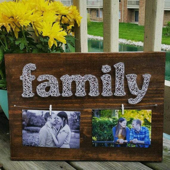 Family Photos String Art 2