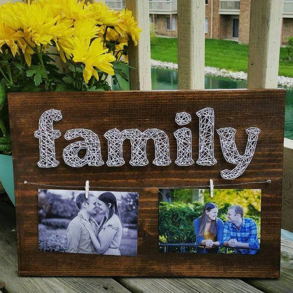 Family Photos String Art 2