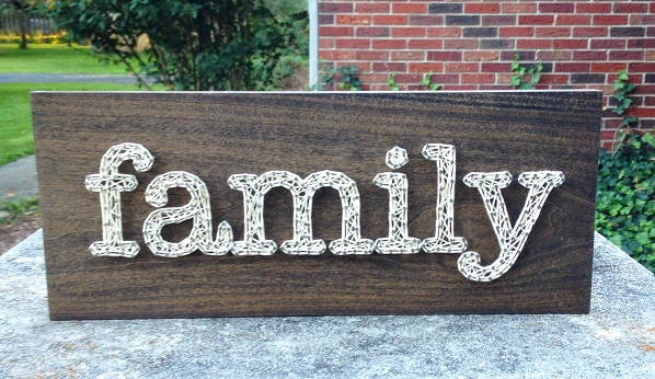 Family String Art 2