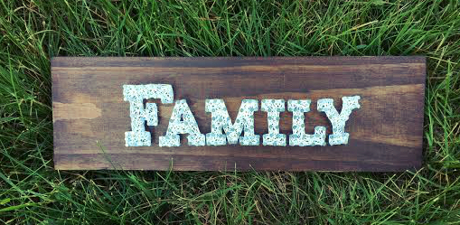 Family String Art 3