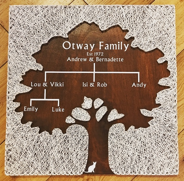 Family Tree String Art 2