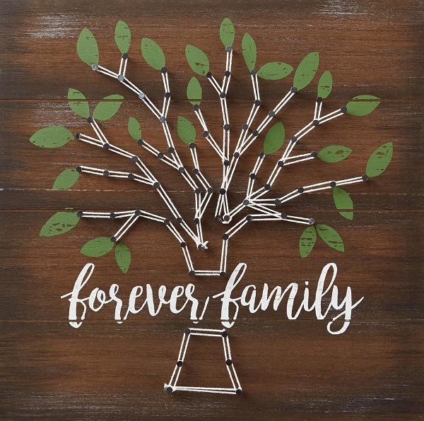 Family Tree String Art 3