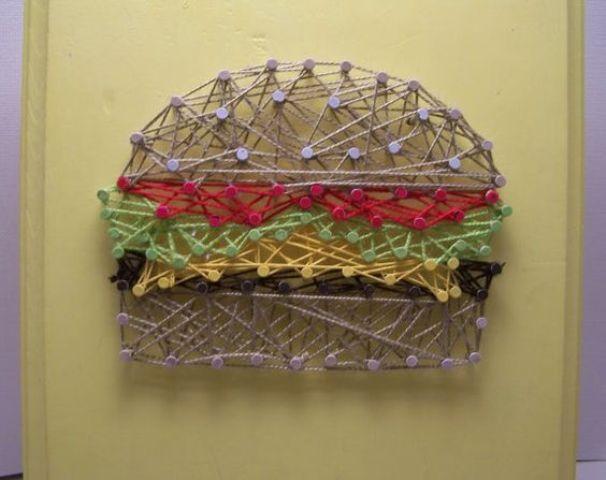 String Art Kitchen Burger