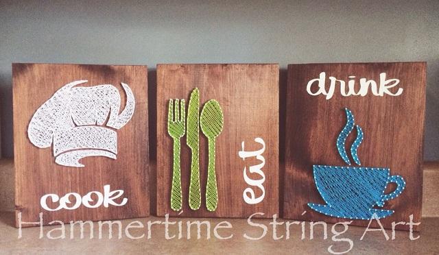 String Art Kitchen