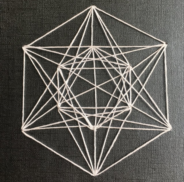 Easy String Art Geometric 2