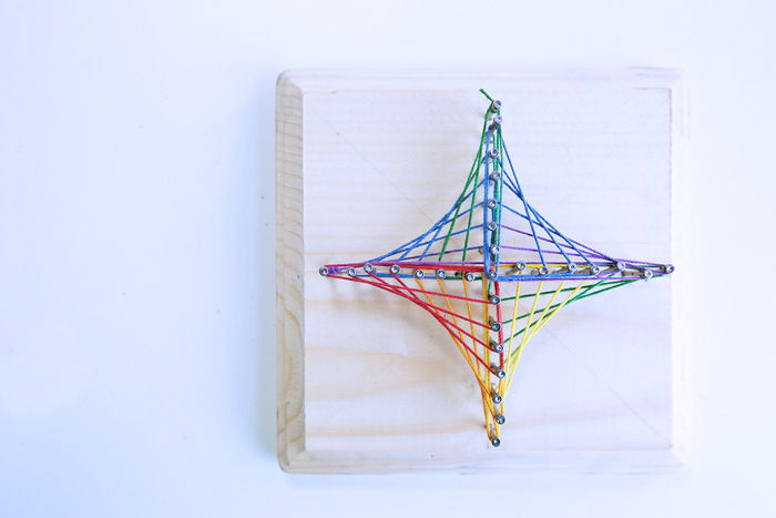 Easy String Art Geometric 3