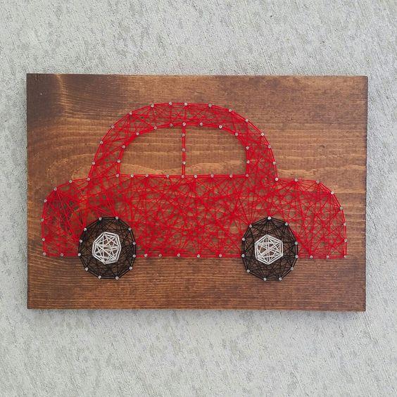 String Art Car Toy