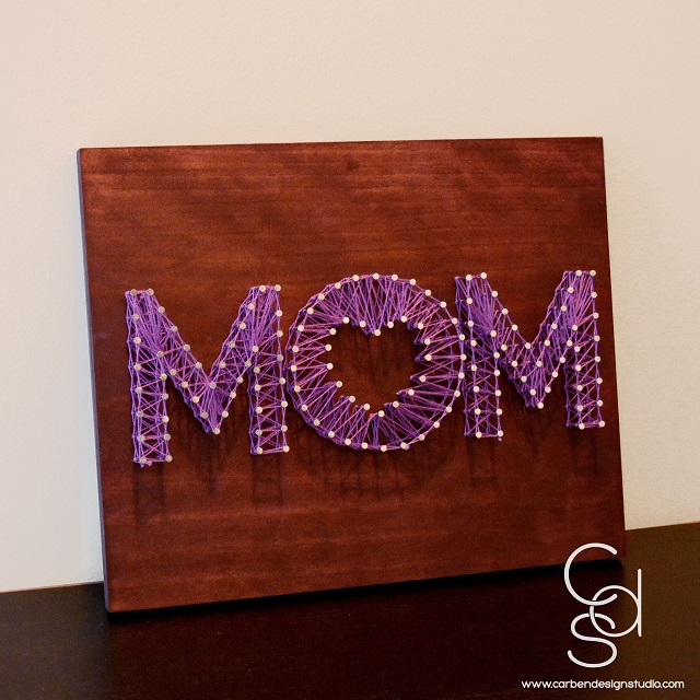 Mother's Day String Art 6