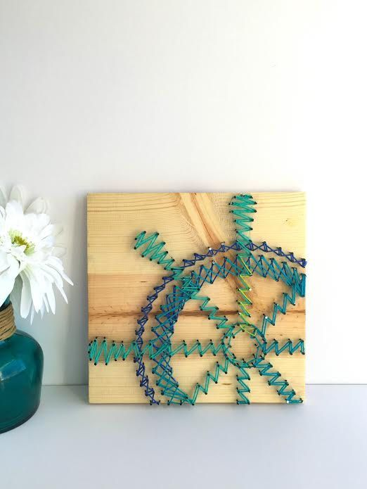 String Art Coastal Style or Nautical Style 5