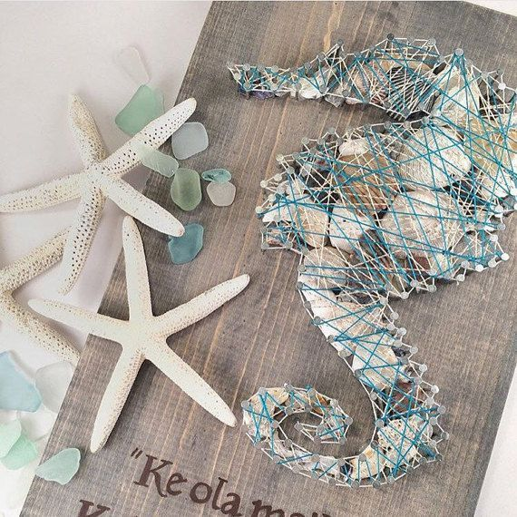 String Art Coastal Style or Nautical Style 10
