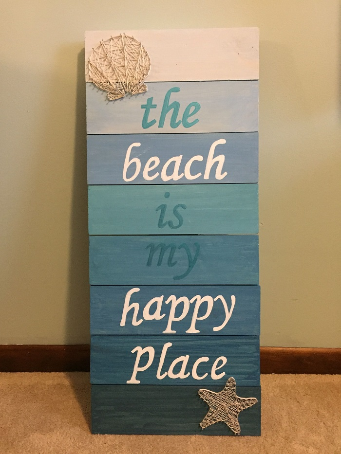 String Art Coastal Style or Nautical Style 2