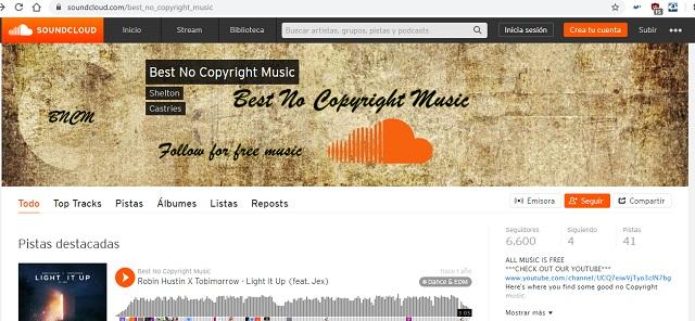 Non copyright music Soundcloud