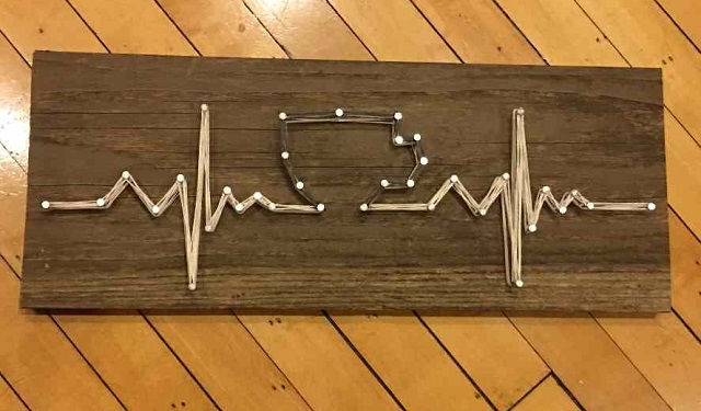 String Art Coffee and life