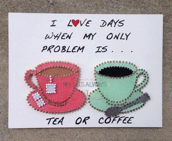 String Art Coffee or Tea