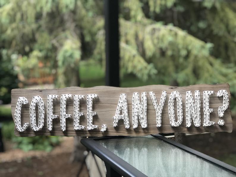 String Art Coffee, anyone?
